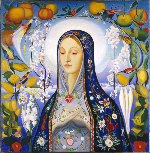 Joseph Stella The Virgin