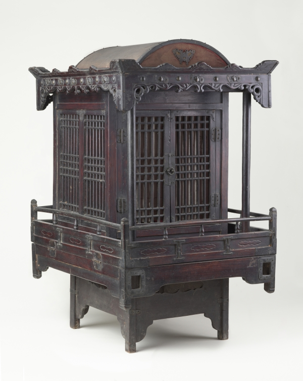 Korean Palanquin for Funerary Processions