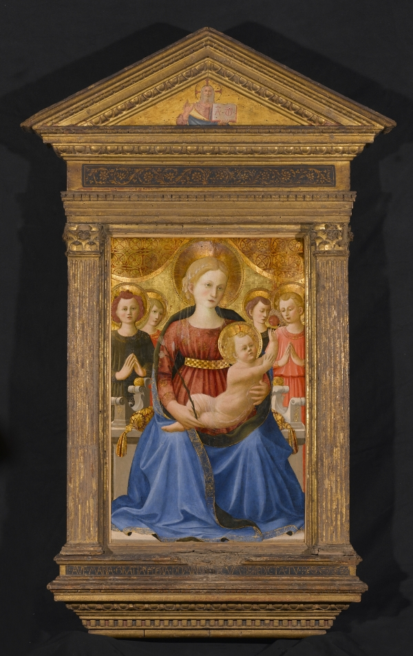 Zanobi Strozzi Virgin and Child with Four Angels and the Redeemer