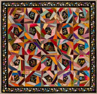 Mary A. Stinson: Crazy Quilt