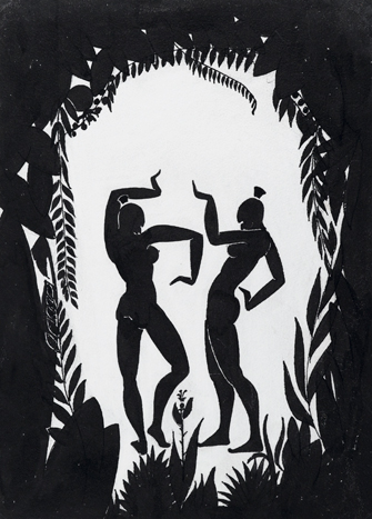 Richard Bruce Nugent: Dancing Figures