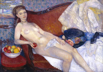 William Glackens: Nude with Apple